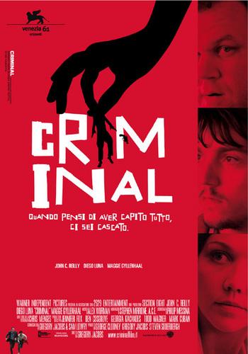 """""""Criminal"""" Poster"""