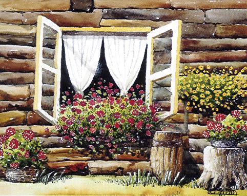 """Florid Window"""