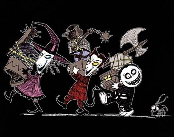 Lock, Shock and Barrel - Nightmare Before Christmas Photo (997906 ...