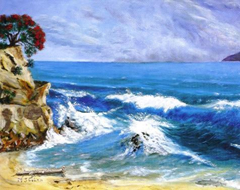 """""""Waves in the Beach"""""""