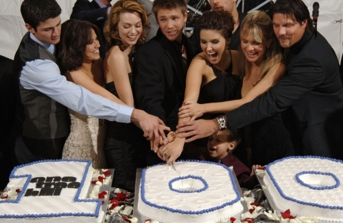 One Tree Hill wallpaper probably with a sign and a street entitled 100th Episode - Cast Party