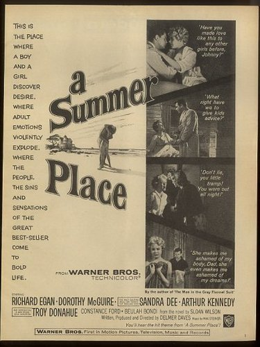 1959 A Summer Place ad