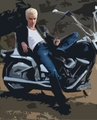 2d bike - james-marsters fan art