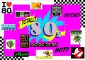 80s recollection - the-80s fan art