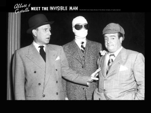 A&B Meet the Invisible Man