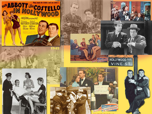 Classic Movies wallpaper with anime entitled Abbott & Costello