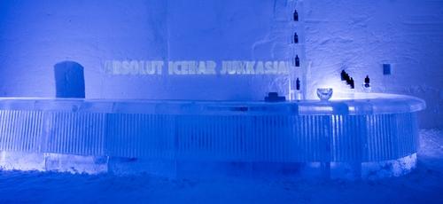 Sweden wallpaper called Absolut Icebar