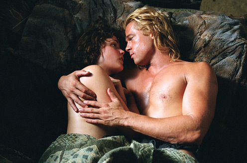 Achillies with Briseis - brad-pitt Photo