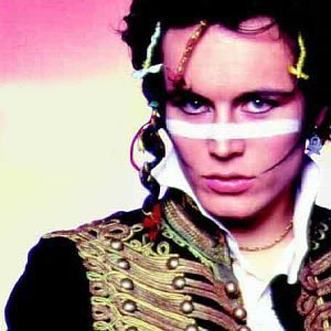 The 80s wallpaper titled Adam Ant