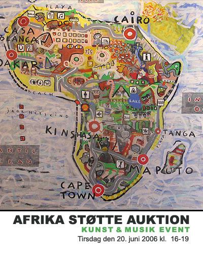 Africa city map