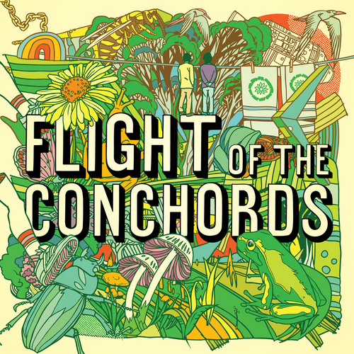 Flight of the Conchords wallpaper titled Album Cover