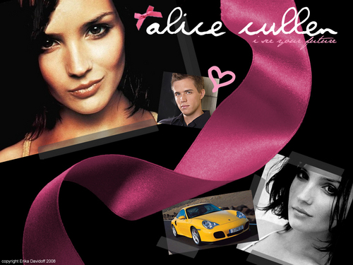 Alice Cullen wallpaper possibly containing a fedora, a boater, and a beaver titled Alice Cullen Wallpaper