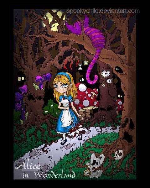 Alice au pays des merveilles FanArts. Alice-classic-disney-1204934_479_600