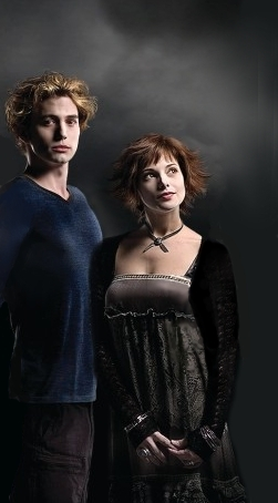 Twilight-Serie Hintergrund entitled Alice n Jasper Pics