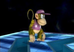 Alternate Diddy Kong Forms