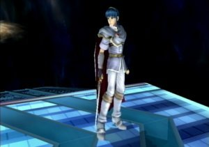 Super Smash Bros. Brawl karatasi la kupamba ukuta called Alternate Marth Forms