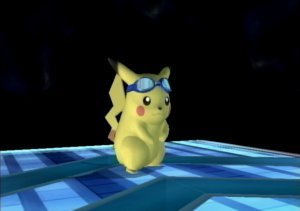 Super Smash Bros. Brawl karatasi la kupamba ukuta titled Alternate Pikachu Forms