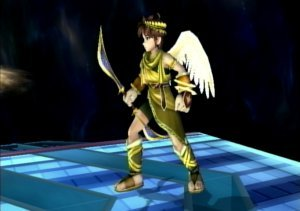 Super Smash Bros. Brawl karatasi la kupamba ukuta entitled Alternate Pit Forms