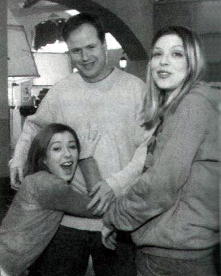Alyson,Amber Benson & Joss W.