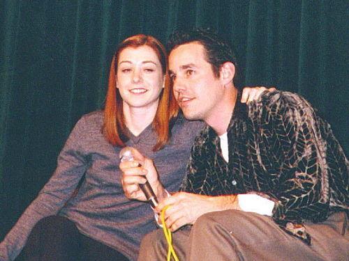 Alyson Hannigan & Nicholas B.