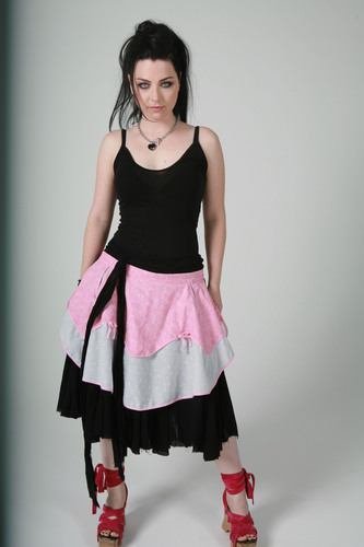 Evanescence wallpaper probably containing a gathered skirt titled Amy Lee
