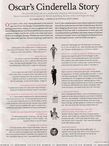 Amy- Life Magazine March 3 06