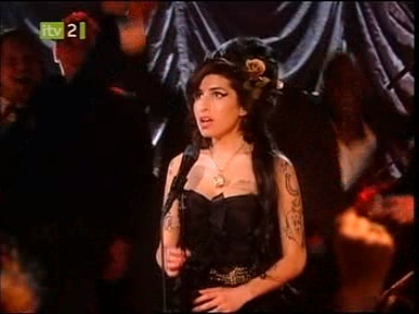 Amy at the Grammys
