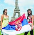 Ana & Jelena in Paris - serbia photo