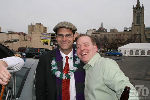 Andy Buckley in Scranton
