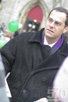 Andy Buckley in Scranton