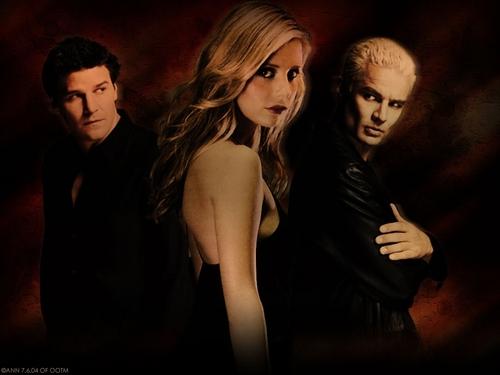 Angel Buffy Spike