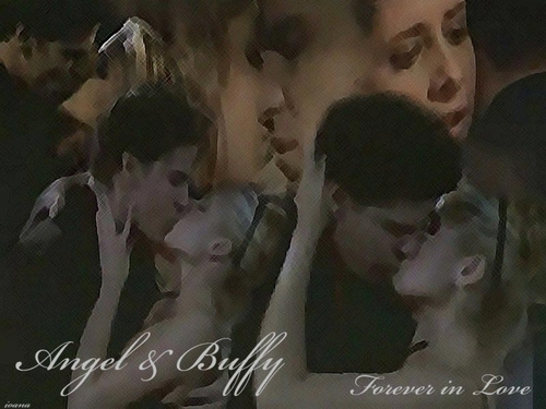 Angel and Buffy Forever Love