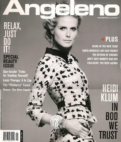 Angeleno Magazine - Jan 2008