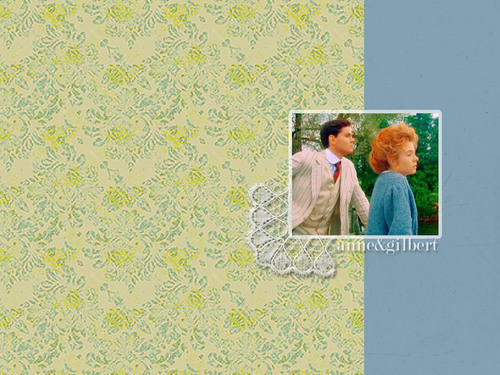 Anne of Green Gables wallpaper entitled Anne & Gilbert
