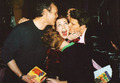 Anthony H,Alyson H,David B. - btvs-behind-the-scene photo