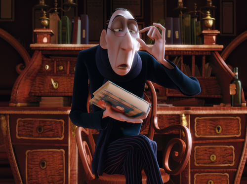 Disney Villains wallpaper entitled Anton Ego - Ratatouille