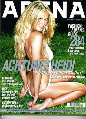 Arena Magazine - Sept 2007