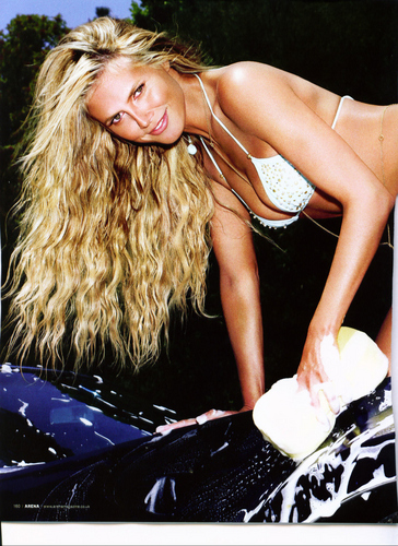 Arena Magazine - Sept 2007 - heidi-klum Photo