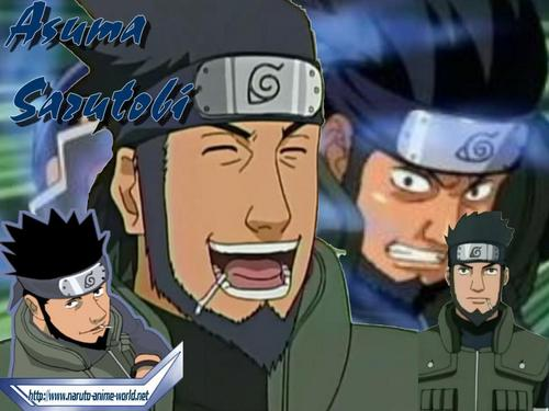 Naruto wallpaper containing anime called Asuma