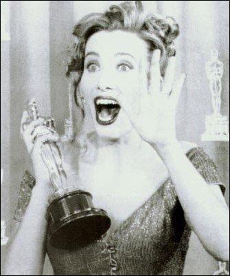 Emma Thompson wallpaper entitled At the Oscars 1993