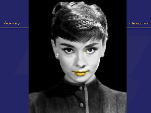 Audrey Hepburn wallpaper probably containing a portrait titled Audrey