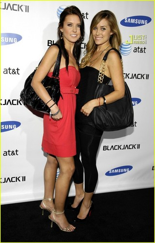 Audrina @ Samsung Party