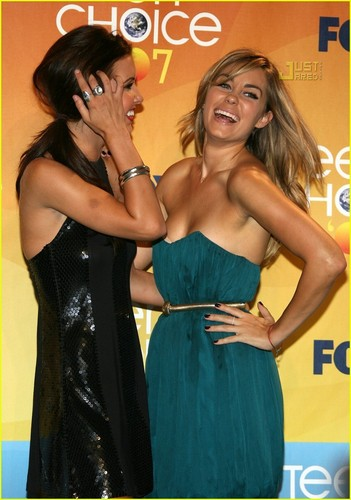 Audrina @ Teen Choice Awards