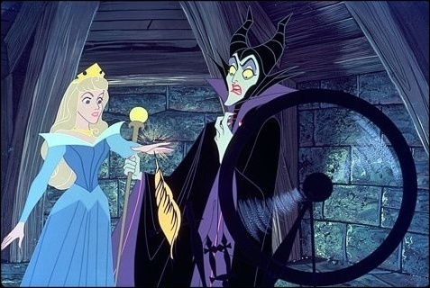 Aurora & Maleficent - sleeping-beauty Photo
