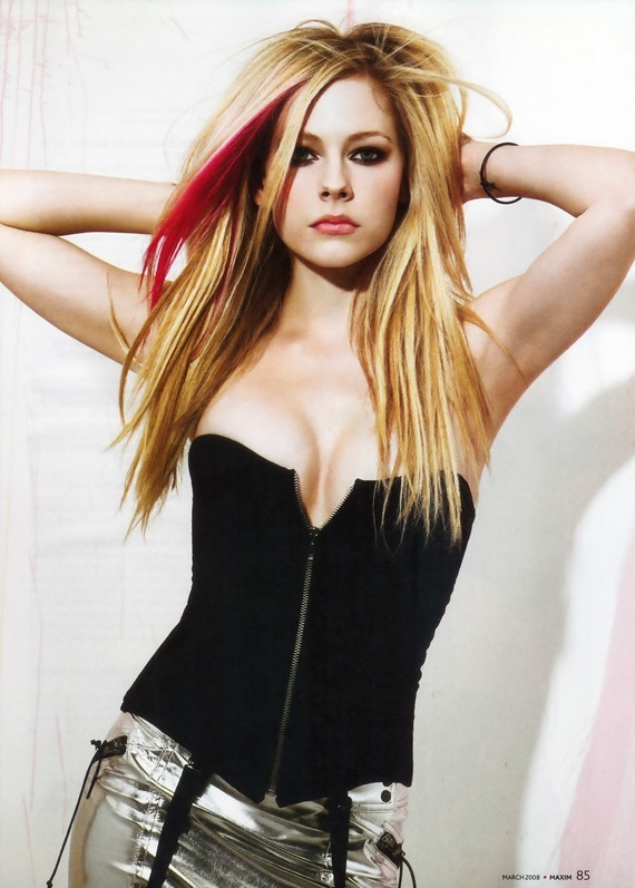 Avril Lavigne Maxim March