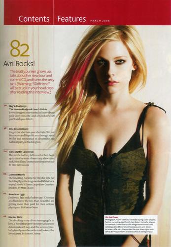 Avril ( Maxim )