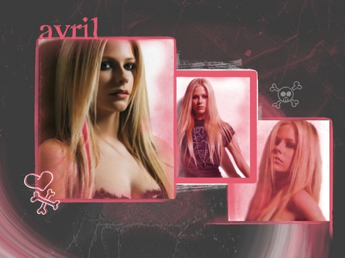 Avril achtergrond