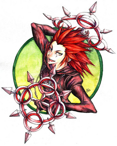 kingdom hearts fondo de pantalla titled Axel