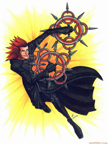 kingdom hearts wallpaper titled Axel