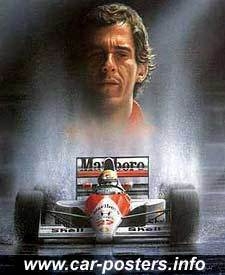 Ayrton Senna - formula-1-racing Fan Art